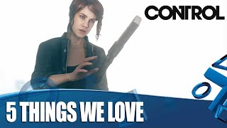 Control PS4 Gameplay - 5 Things We Absolutely Love About It