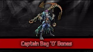 Mutants: Genetic Gladiators - Captain Bag 'O' Bones (Spotlight)