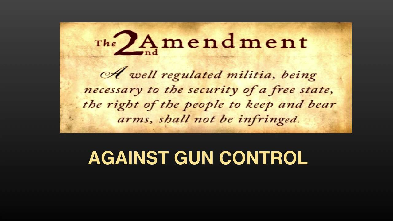 Refuting Anti Gun Control Arguments   The Progressive Cynic