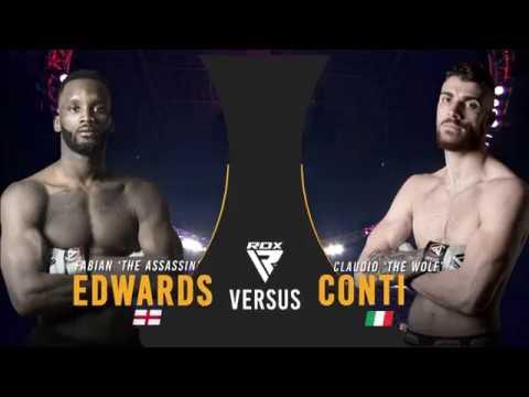 BAMMA 35: Fabian Edwards vs Claudio Conti