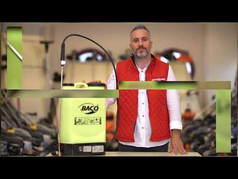 Nasıl Çalışır? | Baco  BC-16A Akülü Pülverizatör