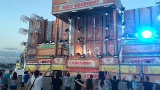Download Bobina - PPK - Resurrection (Space Club Mix) @ Fruit Vibrations, Tushino Airfield, Moscow, 06.07.14 MP3 song and Music Video