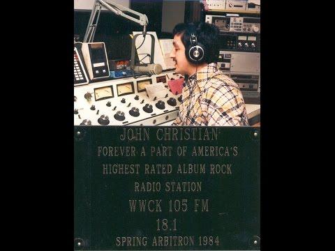 011986 105FM WWCK DJ John Christian's final broadcast Air check