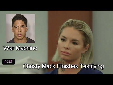 War Machine Trial  Day 4 Part 3 (Christy Mack Testifies) 03/09/17