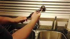 Moen Kitchen Faucet - Cleaning the sediment traps