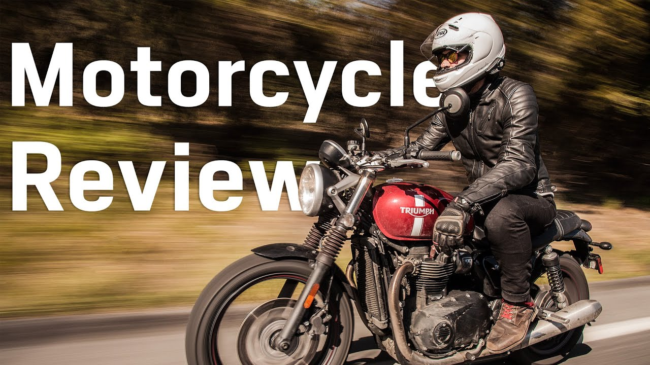 triumph street twin review at revzilla - youtube