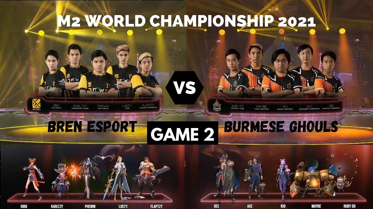 Download BURMESE GHOULS 🇲🇲 VS 🇵🇭 BREN ESPORT (GAME 2) Upper Bracket (M2 WORLD CHAMPIONSHIP)