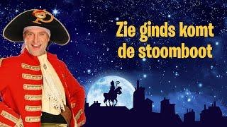 Sinterklaasliedje: Zie ginds komt de stoomboot - Piet Piraat