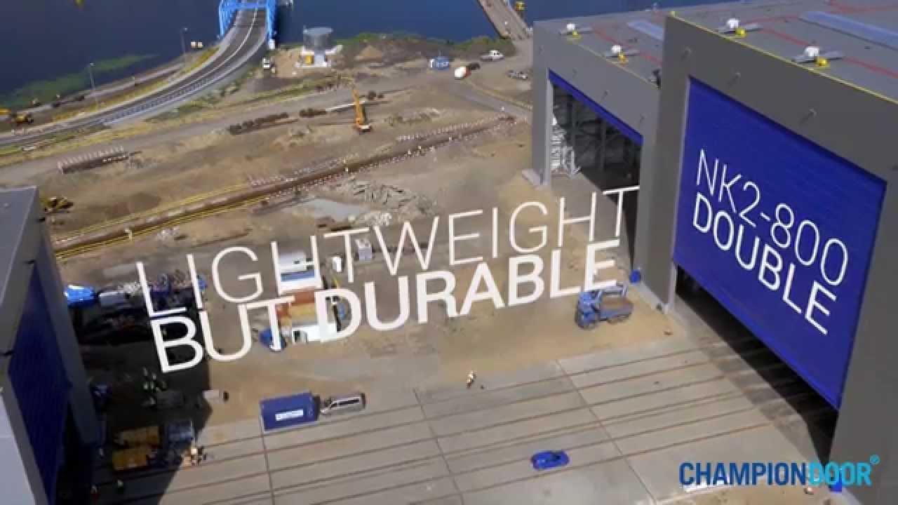 Ch&ion Door Industrial Doors for shipyards & Champion Door Industrial Doors for shipyards - YouTube Pezcame.Com
