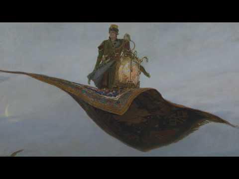 Ковер самолет, Васнецов - обзор картины