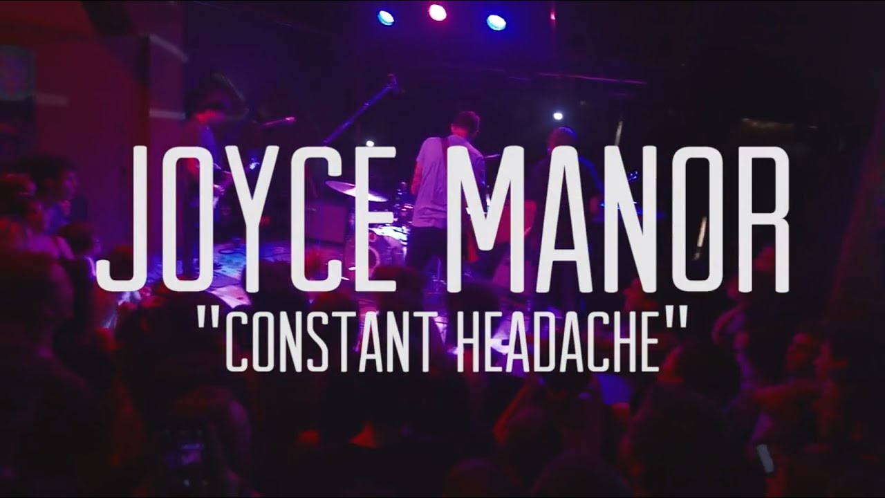 Leather jacket joyce manor lyrics - Joyce Manor Constant Headache Live At 1904 Music Hall