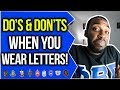 DO'S & DON'TS WHEN WEARING YOUR LETTERS | NPHC ADVICE | COREY JONES