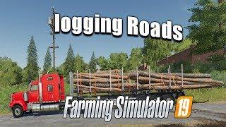 Farming simulator 19 4k - Logging noobcake! yee yeeeeeeeeeeeeeeeeeeeeeee