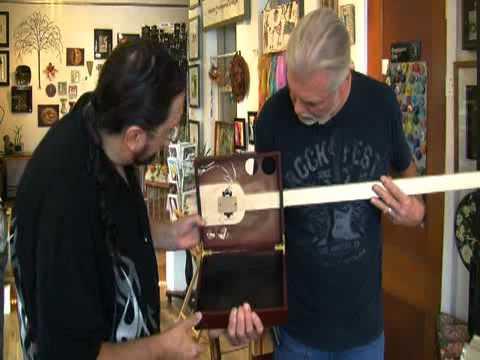 Cigar box guitars made in Cleveland