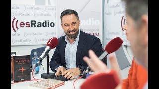 Federico Jiménez Losantos entrevista a Santiago Abascal