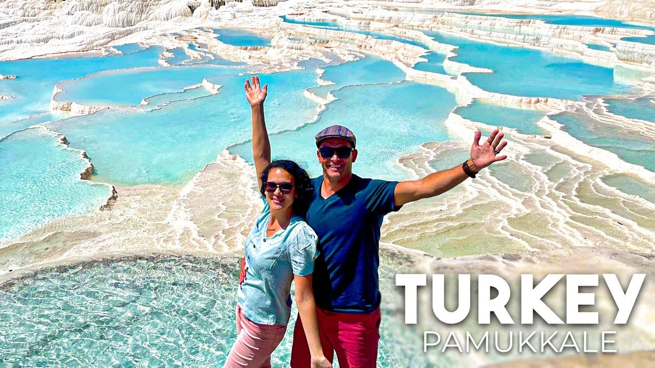 The most beautiful Natural Springs?? Pamukkale TURKEY