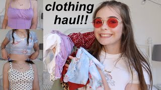 HUGE TRY-ON CLOTHING HAUL!!!