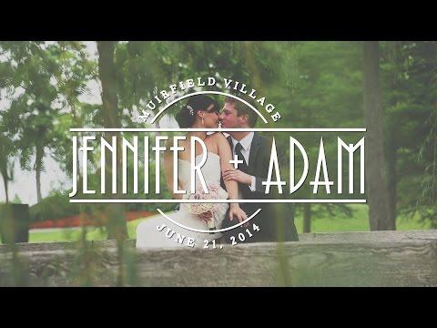 Jennifer + Adam Wedding Feature Film - Muirfield Village Golf Club - Dublin, Ohio