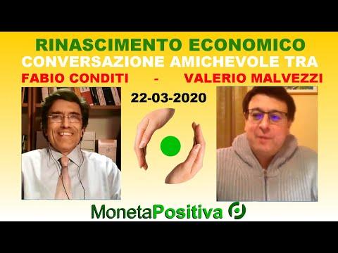 Rinascimento Economico - Valerio Malvezzi - 22 marzo 2020