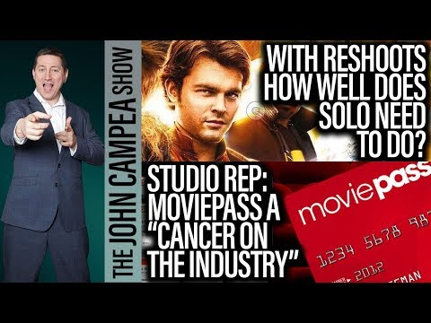 """Studio Rep Says Moviepass Is A """"Cancer"""". DCEU Hires BIRDS OF PREY Director - The John Campea Show"""