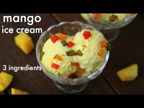 mango ice cream recipe | आम की आइसक्रीम | how to make homemade mango ice cream