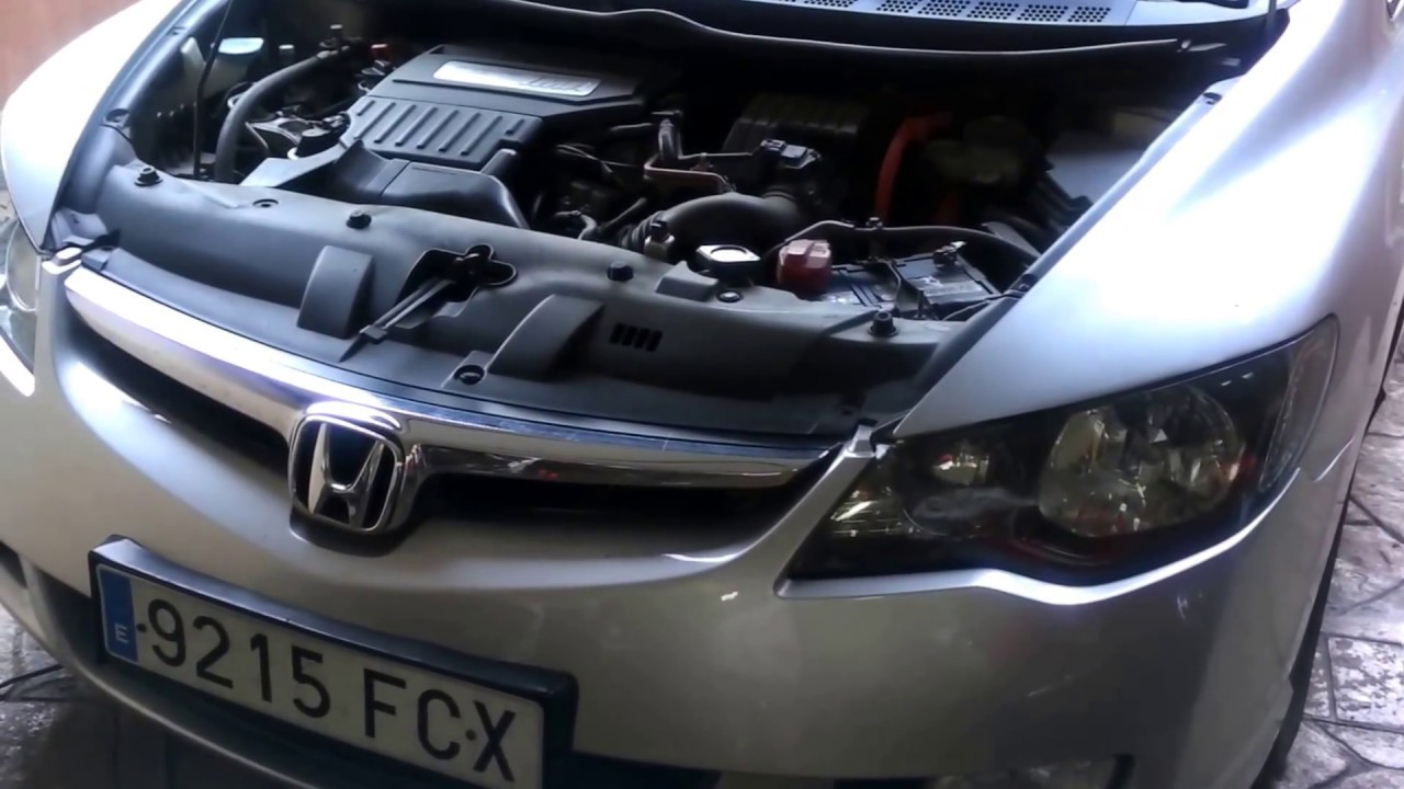 Honda Civic Hybrid Ima 1 3 Replace Oil Engine And Filter Video Of 9