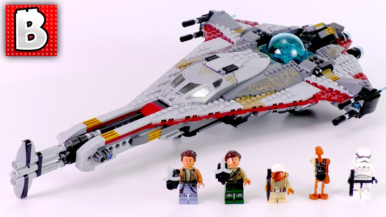 how to build star wars lego sets in video
