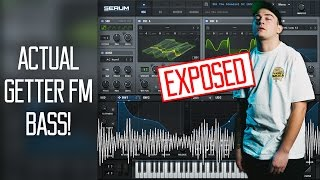 actual getter fm bass serum tutorial free preset