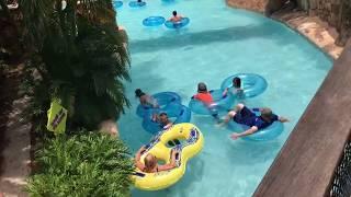 Раздетые американцы Аквапарк Орландо Флорида Aquatica 06.17 жизнь в Америке