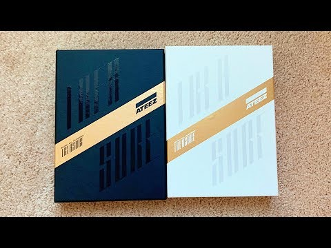 🖤💛UNBOXING ATEEZ 에이티즈 1ST Album TREASURE EP.FIN : All To Action (A+Z Ver)