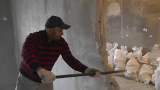 Демонтаж стен без шума.