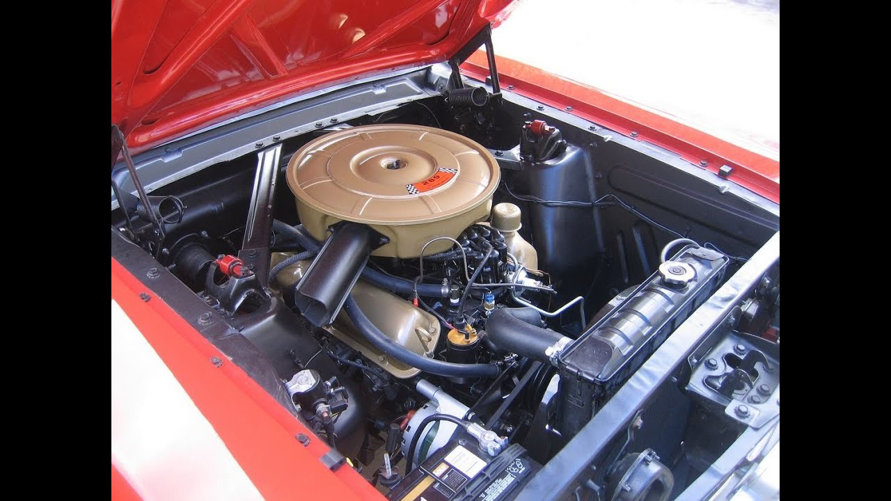 small resolution of 1965 mustang engine compartment detail part 2 youtube ford mustang 289 engine diagram
