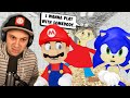 - Sonic and Mario vs Playtime... and Baldi