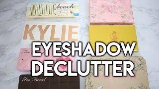 Eyeshadow Palette Decluttering Part 2