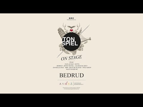 TONSPIEL on stage - Bedrud live from Amsterdam Dance Event