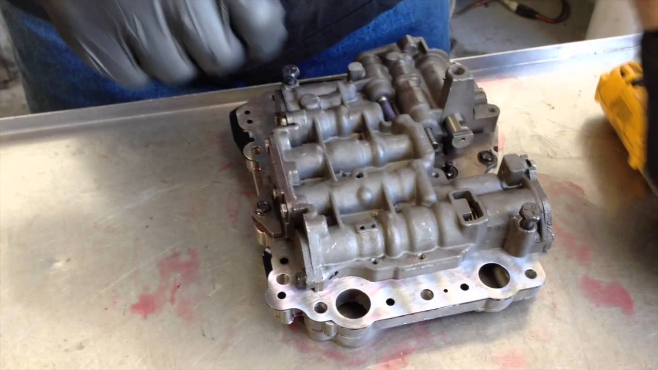 Valve Body C4 Transmission Rebuild William S 1967 Gta