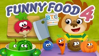Funny Food 4 [Learning Games 4 Kids Toddlers]