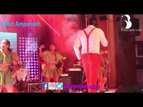 Ofori Amponsah, Becca Classic Performances At Comedy Show