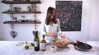 Deliciously Ella Olive, Pine Nut And Zucchini Salad