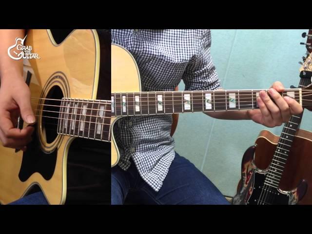 [그랩더기타] Tears In Heaven - Eric Clapton [Guitar Tutorial/통기타 강좌]