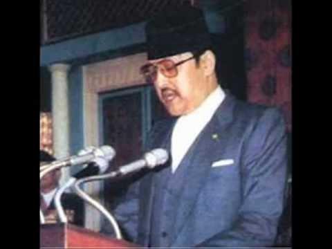 Late king Birendra Bir Bikram Shah