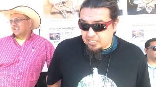 SWAIA 96th Annual Santa Fe Indian Market - Interview   David Gausson Jeweler