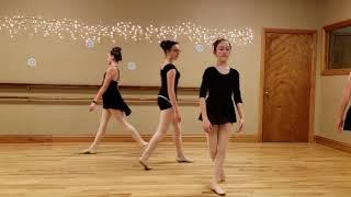 Hannah's Christmas Ballet dance 2018