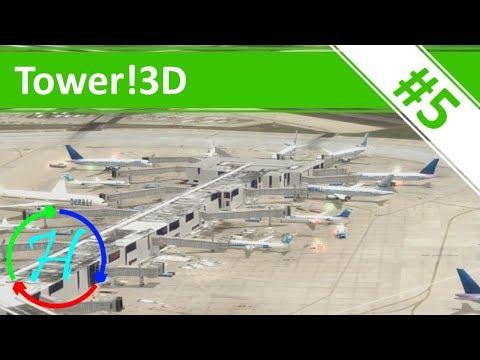 Philadelphia International Airport & St Thomas Airport - Ep.5 - Tower!3D
