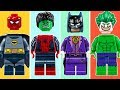 Wrong Brick Bodies with LEGO SUPERHEROES Brick Building Animation