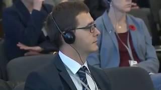 Цель путина - контроль над всей Украиной-Парубий на конференции