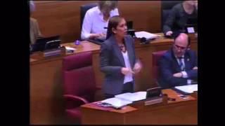 Ana Beltrán (PP) pregunta a Uxue Barkos sobre posible fuga de empresas por la Reforma Fiscal