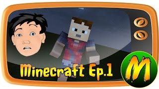 TRAPPED !! 100 days in Minecraft Ep.1