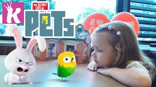 Хэппи Мил Игрушки Тайная жизнь домашних животных Happy Meal toys The Secret Life of Pets