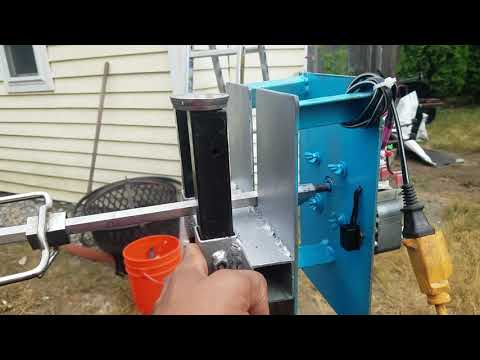 DIY PiG Roasting Machine (Simple And Effective)